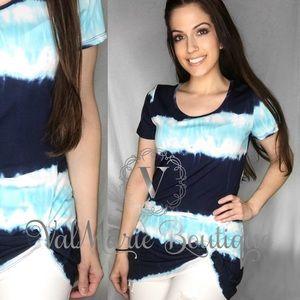 Side Knot Ocean Waves Tshirt